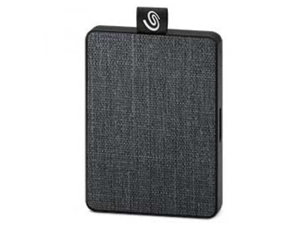 Seagate SSD One Touch SSD 500Gt - Musta