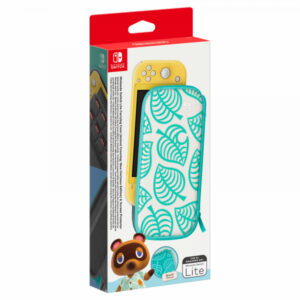 Nintendo Switch Lite Tasche (Animal Crossing) ja Suojakalvo -