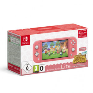 Nintendo Switch Lite koralle incl. Animal Crossing -