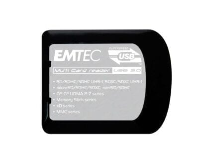 EMTEC Multi Card Reader USB 3.0 - read 76 card formats
