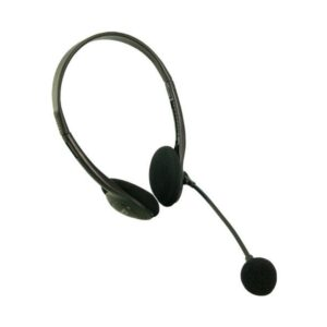 LogiLink Stereo Headset with microphone black HS0002