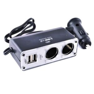 In-Car Zigaretten 2er Steckdose / Twin Socket & 2x USB