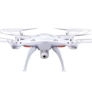 Quad-Copter SYMA X5SW 2.4G 4-Channel with Gyro + Camera, WiFi+FPV (White)