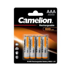 Rechargeable batteries Camelion AAA Micro 600mAh (4 Pcs)