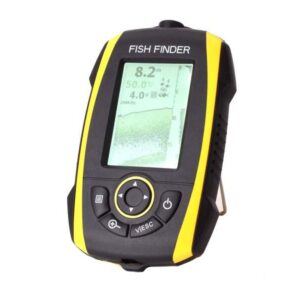 Phiradar Portable Fish Finder (FF278A, Black/Yellow)