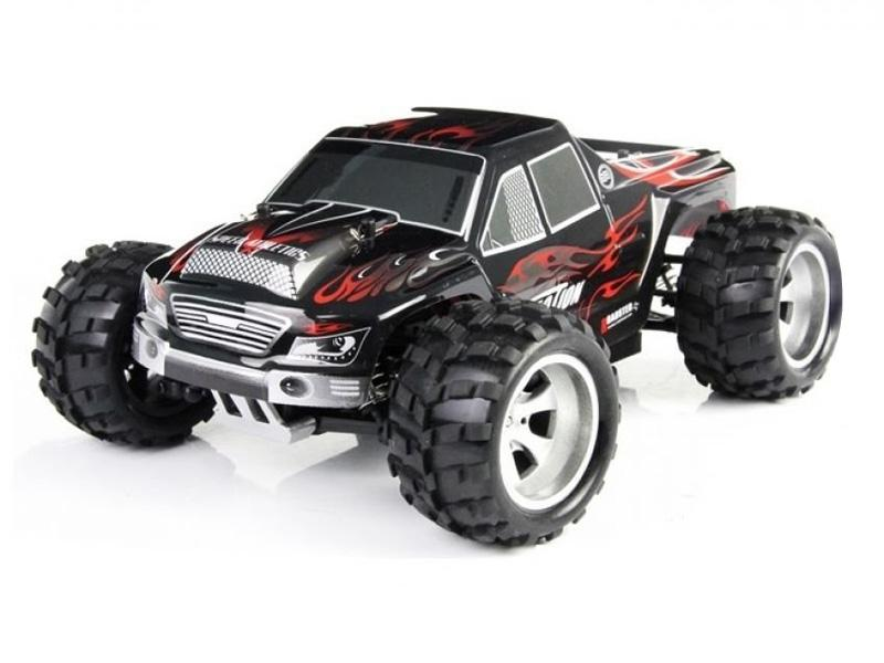 RC Monster Truck Vortex A979 1/18 RTR 4WD 2.4G 50km/h (black-red) - A979