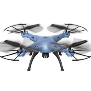 Quad-Copter SYMA X5HW 2.4G 4-Channel with Gyro + Camera (Blue)