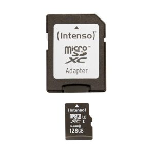 MicroSDXC 128GB Intenso Premium CL10 UHS-I +Adapter Blister