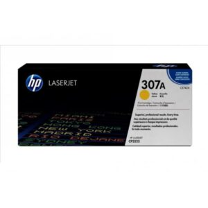 HP Tonerpatrone - 307A - CE742A - yellow CE742A