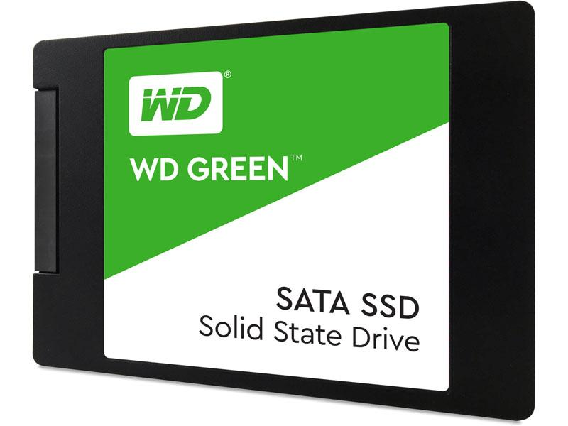 Solid State Disk WD Green 3D NAND SSD 120GB WDS120G2G0A