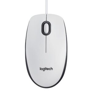 Mouse Logitech Optical Mouse B100 for Business White 910-003360
