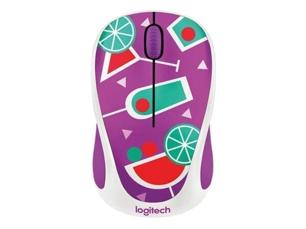 Mouse Logitech Wireless Mouse M238 - Party Collection (Cocktail) 910-004784