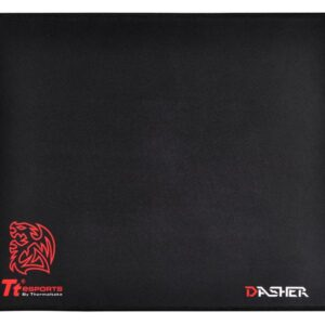 Accessories Thermaltake Thermaltake Gaming Dasher Medium Mousepad black MP-DSH-BLKSMS-02