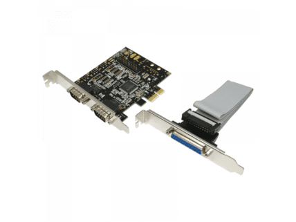 Logilink PCI Express Card, 2x Seriell & 1x Parallel (PC0033)