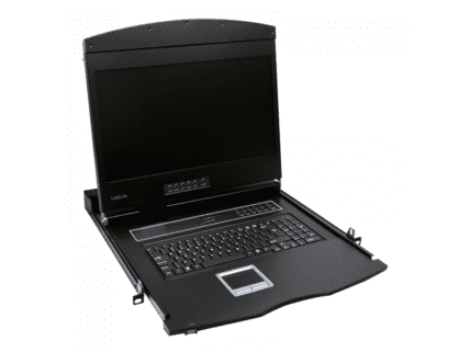 Logilink 19 LCD KVM Console with 19 TFT Panel and Keyboard (DE) (LC902GE)