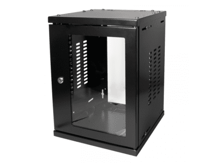 Logilink 10 SOHO Wallmount Enclosure 8HE 312x300mm, black (W09Z33B)