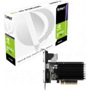Palit GeForce GT 710 2GB - Näytönohjain - PCI-Express 2,048 MB DDR3 - GF GT 710 NEAT7100HD46H