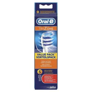 Oral-B TriZone Replacement Brush Heads (5 Pack)
