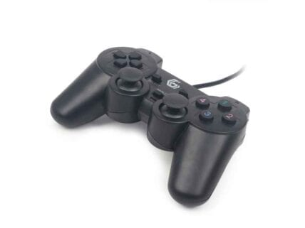 Gembird JPD-UDV-01 Gamepad PC Black gaming controller JPD-UDV-01