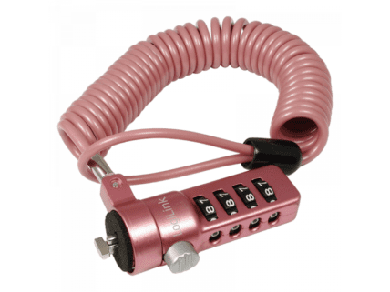 Logilink Laptop anti-theft lock, Pink (NBS007)