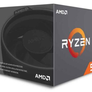 AMD Ryzen 5 2600X 3.6GHz 16MB L3 Box processor YD260XBCAFBOX