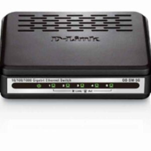 D-Link Black - Switch - Copper Wire 1 Gbps - External GO-SW-5G/E