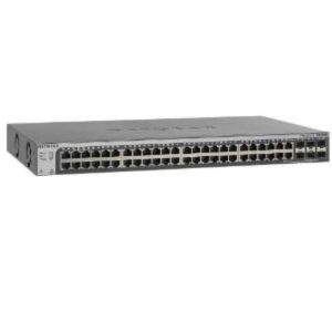 Netgear L3 Black  Switch WLAN 1 Gbps Rack Module GS752TSB-100EUS