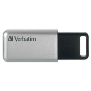 Verbatim Secure Pro 32GB USB 3.0 (3.1 Gen 1) USB Type-A connector Silver USB flash drive 98665