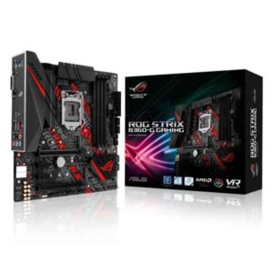 ASUS ROG STRIX B360-G GAMING Intel® B360 LGA 1151 (Socket H4) 90MB0WD0-M0EAY0