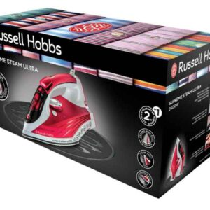 Russell Hobbs Steam Iron 2600W red-white 23991-56
