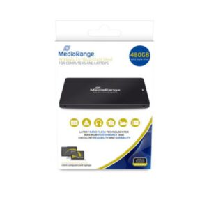 MediaRange SSD 480GB USB 2.5 Intern Schwarz MR1003