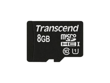 Transcend MicroSD Card  8GB SDHC UHS1 (ohne Adapter) TS8GUSDCU1