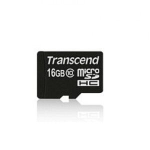 Transcend MicroSD/SDHC Card 16GB UHS1 (ohne Adapter) TS16GUSDCU1