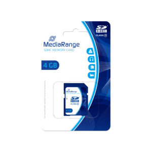 MediaRange SD Card 4GB SDHC CL.10 MR961