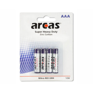 Batterie Arcas R03 Micro AAA (4 pieces)