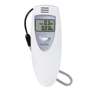 Alcohol tester LCD / Digital Breath Alcohol Tester (6387)