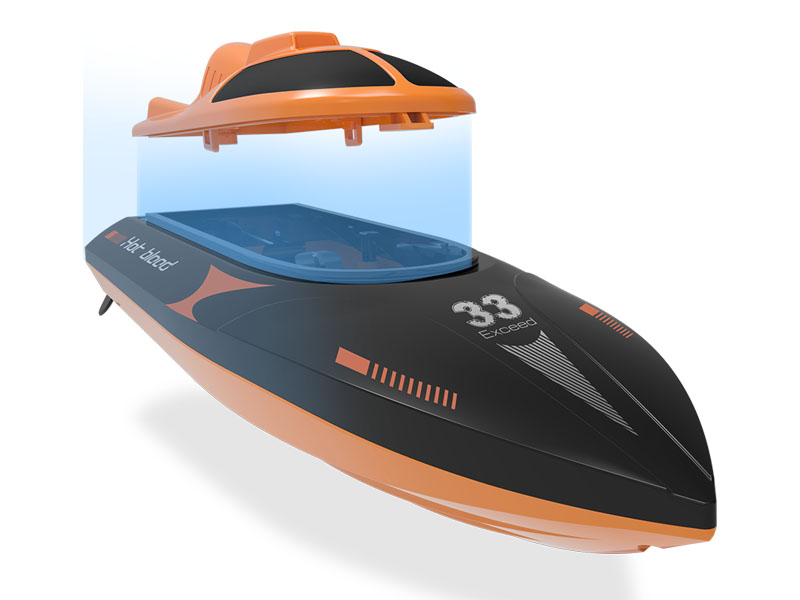 Speed Boat SYMA Q2 GENIUS 2.4G 2-Channel (Top speed of 20 km/h)