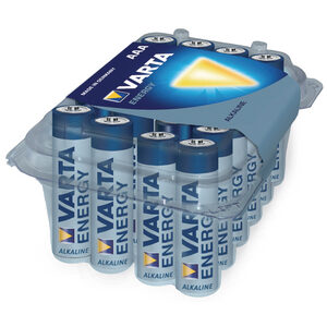 Batterie Varta Alkaline Micro AAA Energy Retail-Box (24-Pack) 04103 229 224