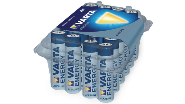 Batterie Varta Alkaline Mignon AA Energy Retail-Box (24-Pack) 04106 229 224