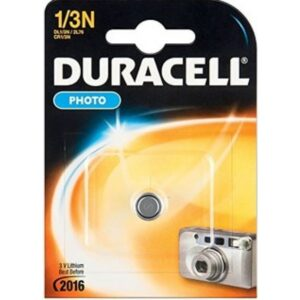Duracell Batterie Lithium Knopfzelle CR1/3N 3V Photo Retail (1-Pack) 003323