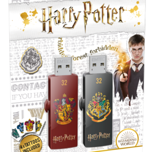 USB FlashDrive 32GB EMTEC M730 (Harry Potter Gryffindor & Hogwarts) USB 2.0
