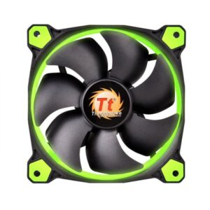 Thermaltake PC- Gehäuselüfter Riing 14 LED Green CL-F039-PL14GR-A