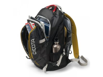 Dicota Backpack Active 14-15.6 black/yellow D31048
