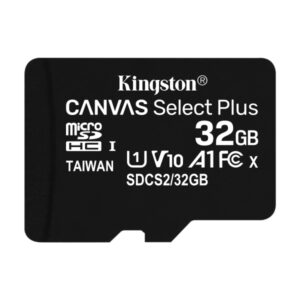 Kingston MicroSDHC 32GB +Adapter Canvas Select Plus SDCS2/32GB