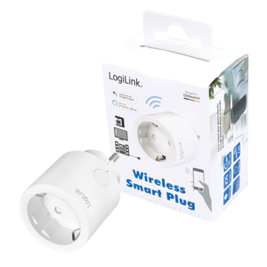 LogiLink Smart Plug Socket voice controlled Wifi 2.4 PA0199