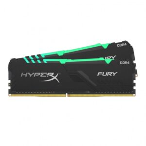 Kingston HyperX FURY RGB DDR4 16 Gt 2x8 Gt HX432C16FB3AK2 / 16