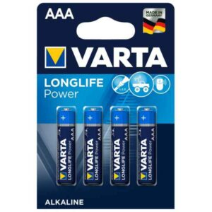 Battery Varta Longlife Power LR03 Micro AAA (4 pcs)