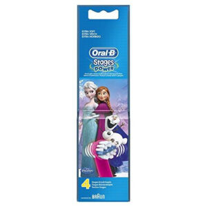 Oral-B Replacement Toothbrush Heads Stages Frozen 4pcs pack
