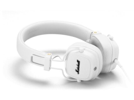 MARSHALL MAJOR III Headphones wired White