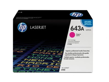 HP 643A 10000 pages Magenta 1 pc(s) Q5953A